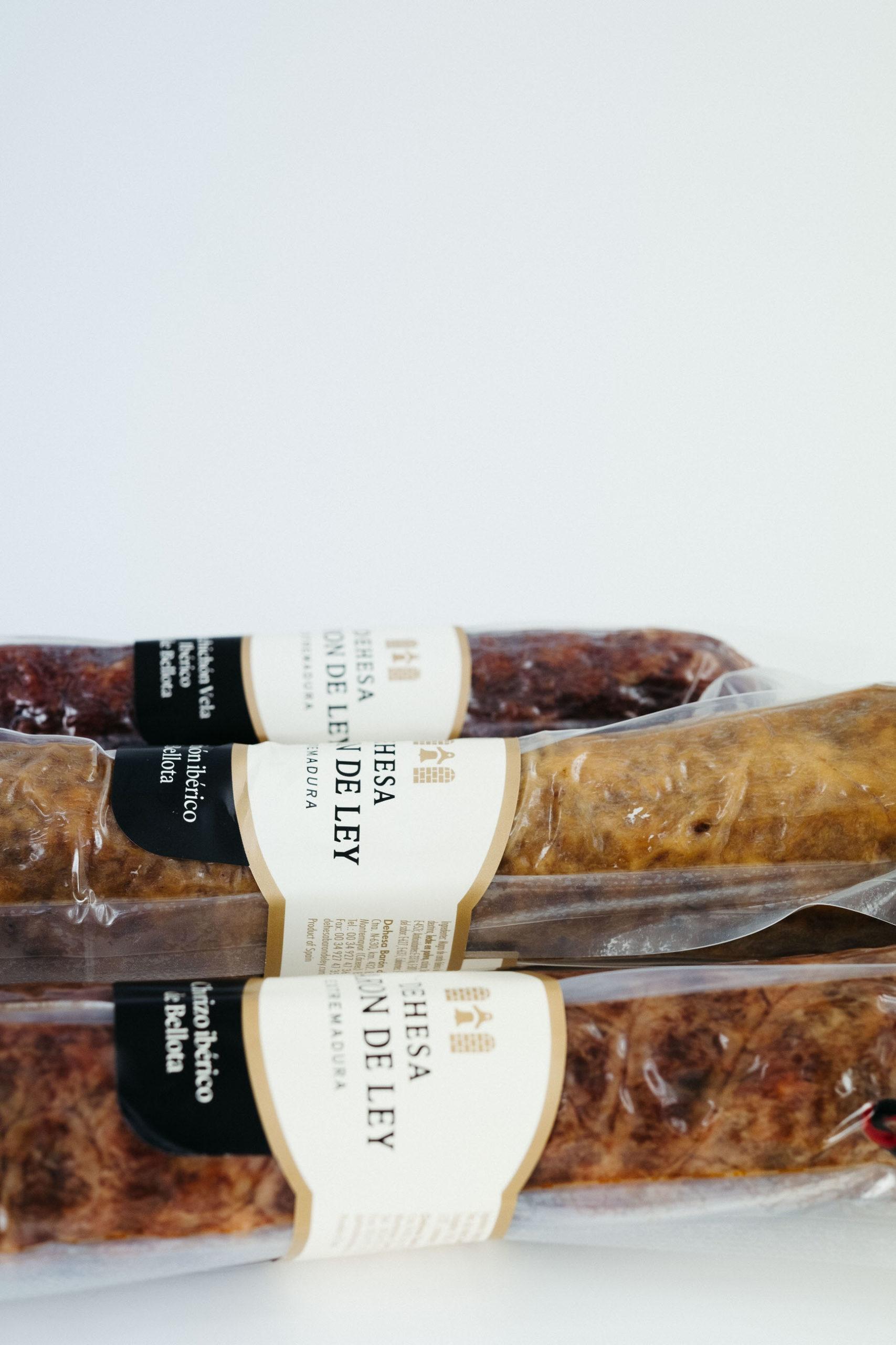 Chorizo iberico Dehesa Baron de ley